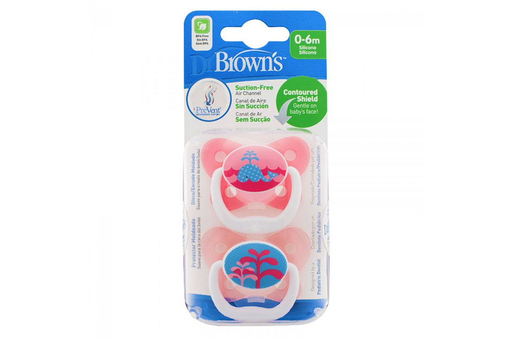 Dr Browns 0-6M Pink