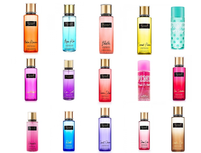 VICTORIA'S SECRET Fragrance Body Mists